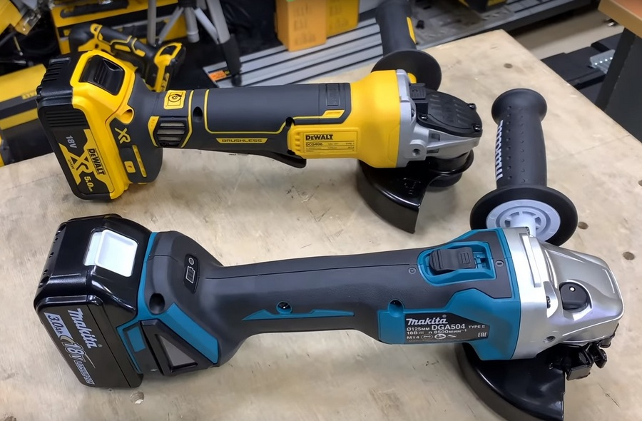 Болгарка Makita DGA504 VS DeWALT DCG406