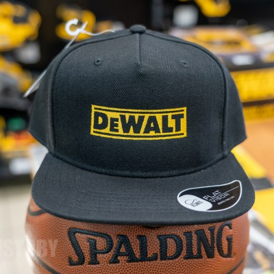 Кепка DeWALT Snap Back Atlantis Черная